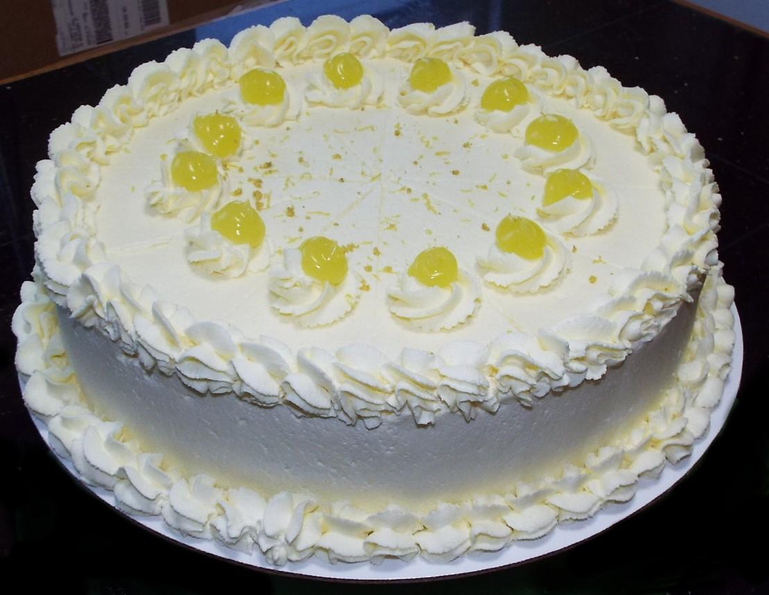 Lemon Lover Cake