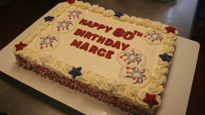 """A """"4th Of July"""" Birthday Cake"""