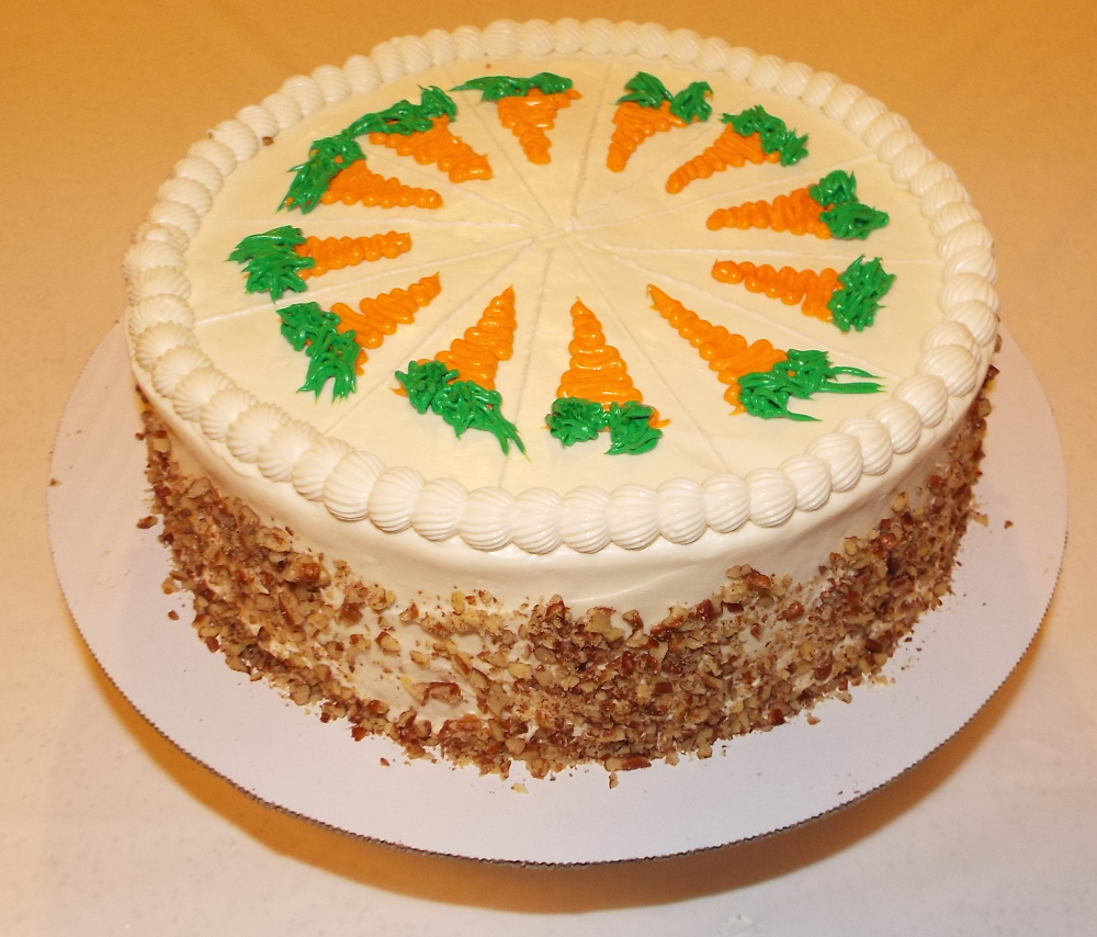 Carrot-Pineapple-Cake