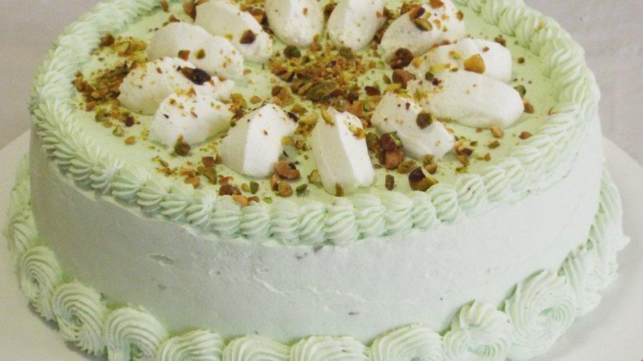 Princess Pistachio Cake
