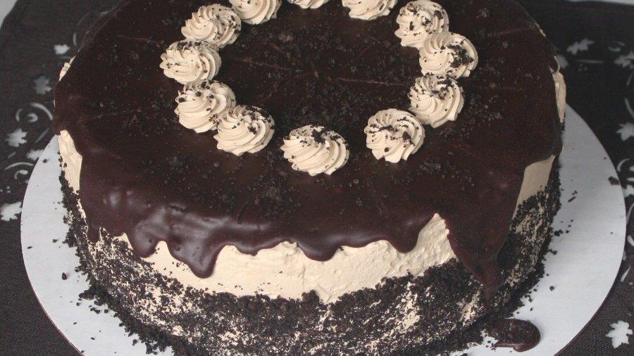 Caffé Mocha Chocolate Cake